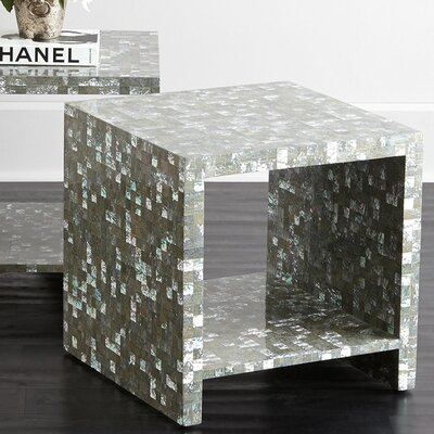 Abalone End Table