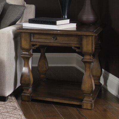 Montebello End Table with Storage