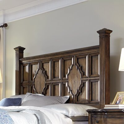 Montebello Panel Headboard Size: King
