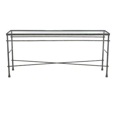 Pollard Glass Console Table