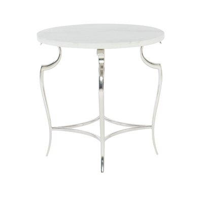 Savoy Place Round Metal End Table