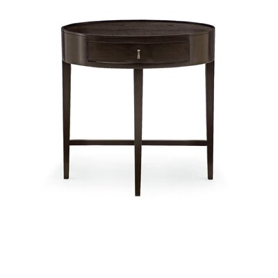 Haven Oval 1 Drawer Nightstand