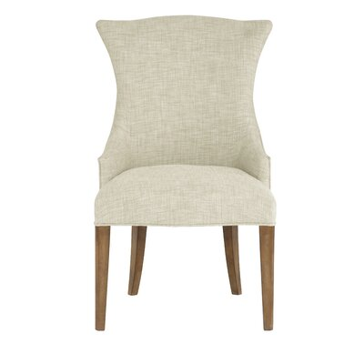Soho Luxe Armchair Upholstery: White, Nailhead Detail: Included