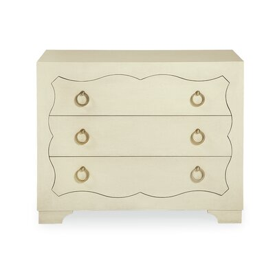 Salon 3 Drawer Nightstand