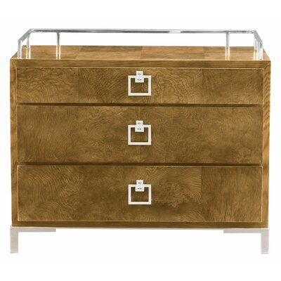 Soho Luxe 3 Drawer Bachelors Chest
