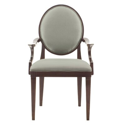 Haven Upholstered Dining Chair Color: Brunette