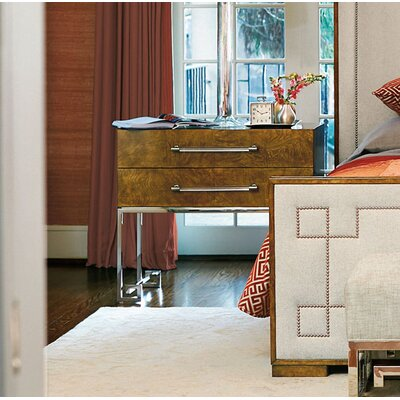 Soho Luxe 2 Drawer Nightstand