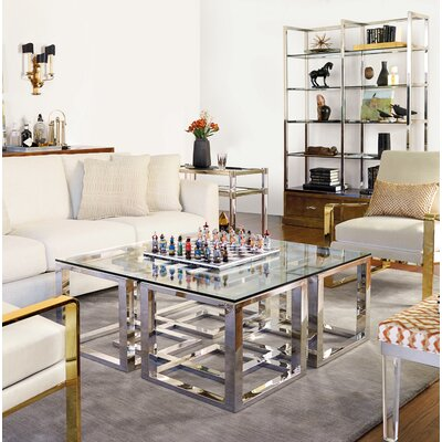 Soho Luxe 2 Piece Coffee Table Set