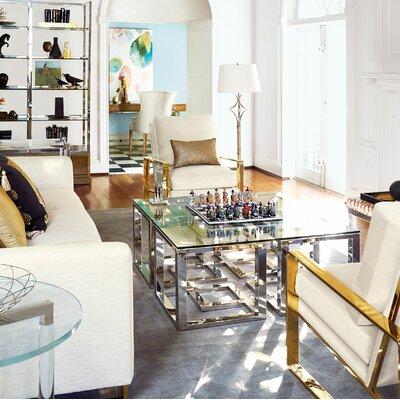 Soho Luxe 3 Piece Coffee Table Set