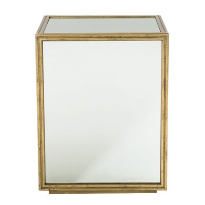 Jet Set Mirrored End Table