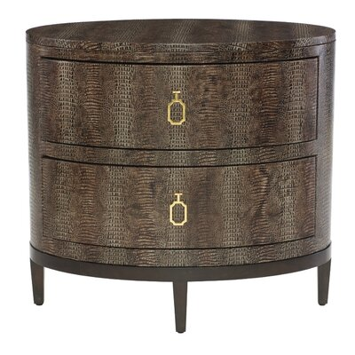 Jet Set 2 Drawer Nightstand
