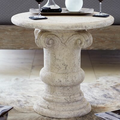 Campania Crushed Stone End Table
