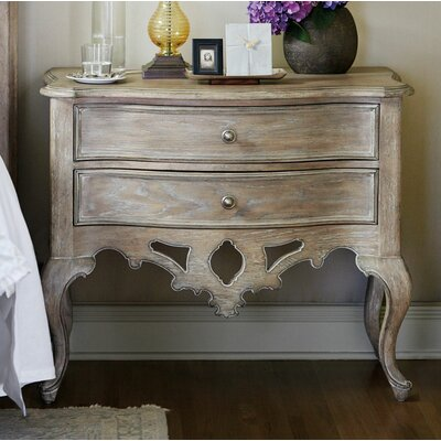 Campania 2 Drawer Nightstand