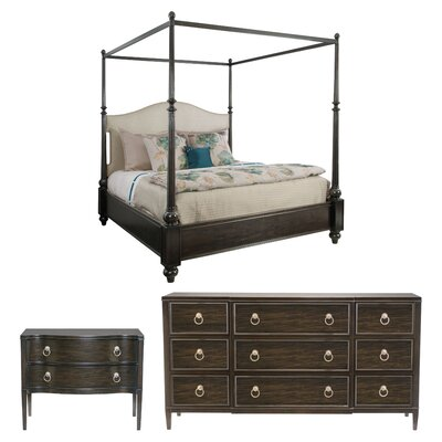 Sutton House King Canopy Configurable Bedroom Set