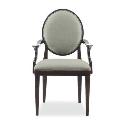 Haven Upholstered Dining Chair Color: Raven
