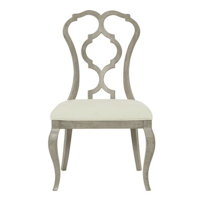 Marquesa Carved Back Upholstered Dining Chair