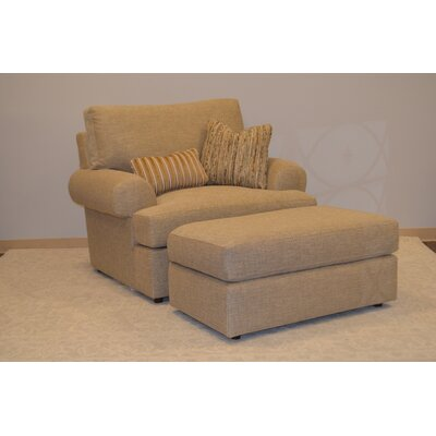 Andrew Armchair and Ottoman Set