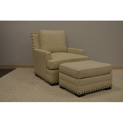 Cantor Armchair and Ottoman Set