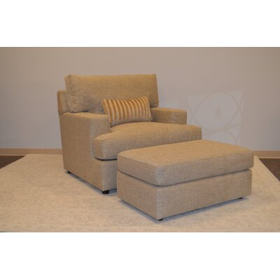 Winslow Armchair and Ottoman Set