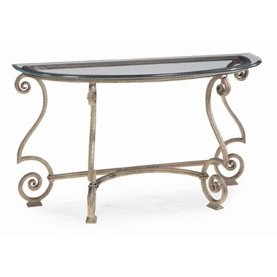Cheap Bernhardt Solano Console Table in Aged Bronze Paint (BHT1662)