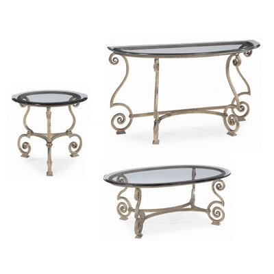 Solano 3 Piece Coffee Table Set
