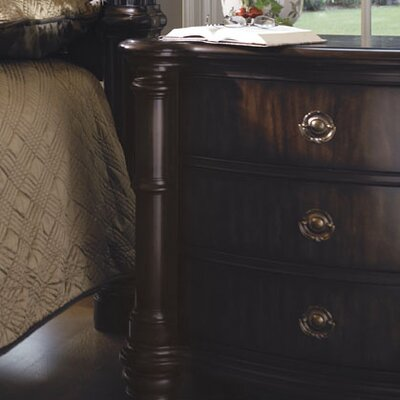 Rent to own James Island 3 Drawer Nightstand...