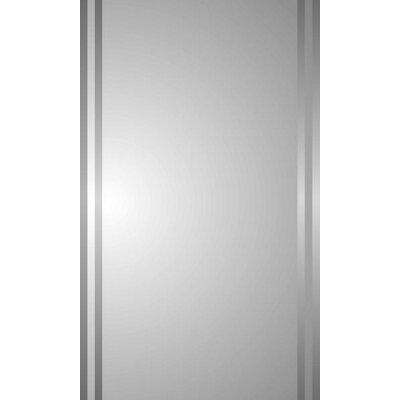 Spigner 16 x 26 Recessed Medicine Cabinet with Mirror