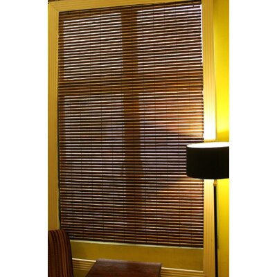 Simply Wood Roman Shade Size:  58 W x 64 L