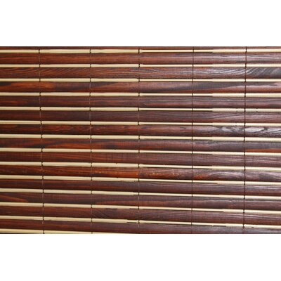 Simply Wood Roller Shade Size:  71 W x 64 L