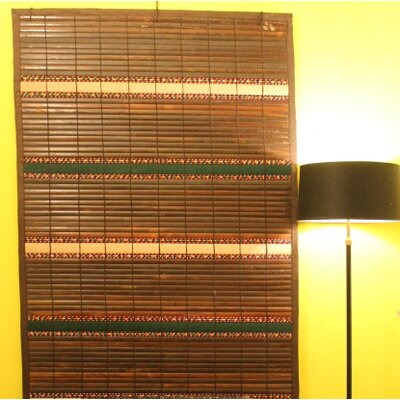 Simply Wood Dense Forest Roller Shade Size:  48 W x 72 L