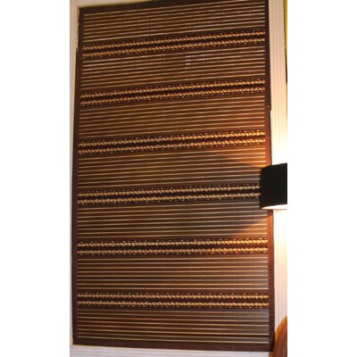 Simply Wood Twilight Roman Shade Size:  96 W x 72 L