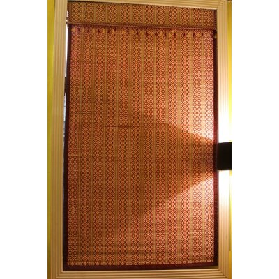 Bamboo Art Spring Time Roman Shade Size:  30 W x 72 L