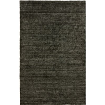 Dona Charcoal Hand-Woven Gray Area Rug Rug Size: Runner 26 x 10