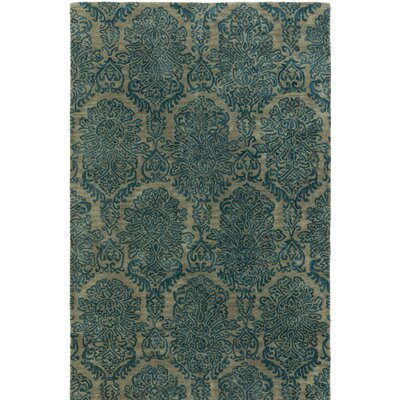 Allenport Hand-Tufted Blue Area Rug Rug Size: 2 x 3
