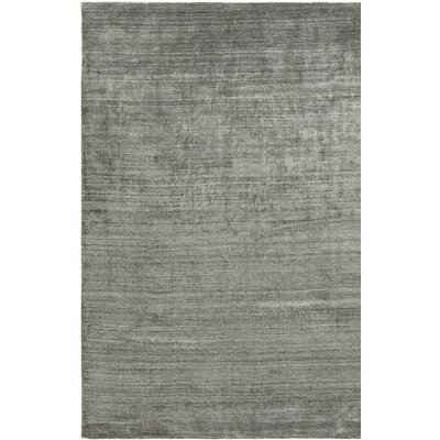 Ericka Zinc Hand-Woven Gray Area Rug Rug Size: Runner 26 x 10