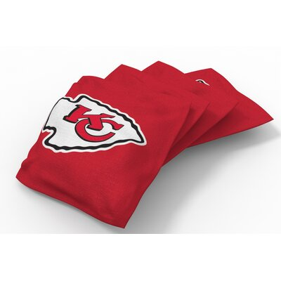 NFL Bean Bag Set NFL Team: Kansas City Chiefs Red