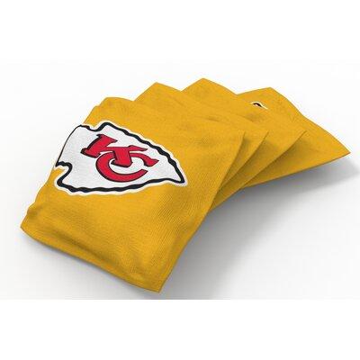 NFL Bean Bag Set NFL Team: Kansas City Chiefs Gold