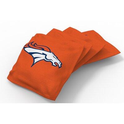 NFL Bean Bag Set NFL Team: Denver Broncos Orange