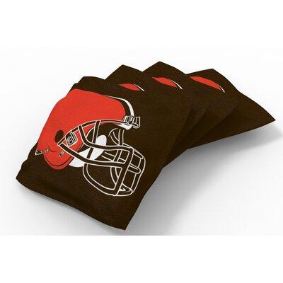 NFL Bean Bag Set NFL Team: Cleveland Browns Brown