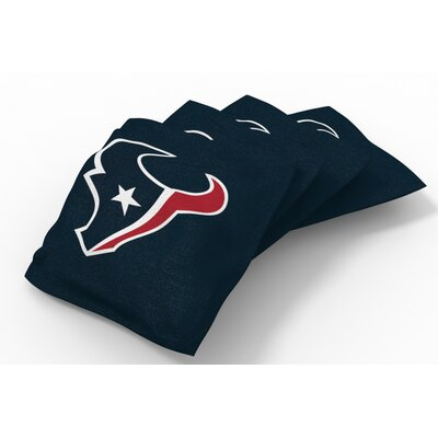 NFL Bean Bag Set NFL Team: Houston Texans Deep Steel Blue
