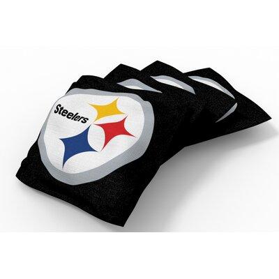 NFL Bean Bag Set NFL Team: Pittsburgh Steelers Black