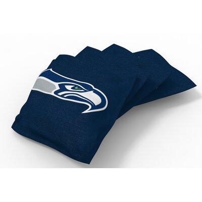 NFL Bean Bag Set NFL Team: Seattle Seahawks Navy