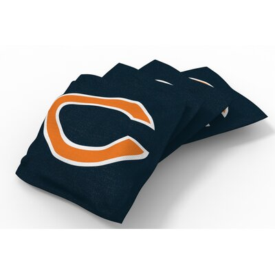 NFL Bean Bag Set NFL Team: Chicago Bears Dark Navy Blue