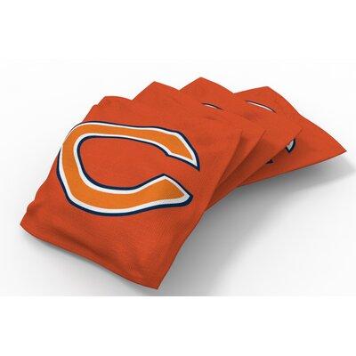 NFL Bean Bag Set NFL Team: Chicago Bears Orange