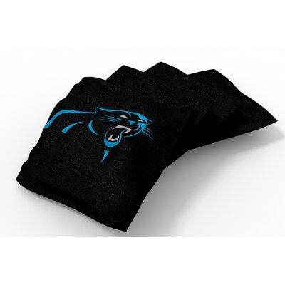 NFL Bean Bag Set NFL Team: Carolina Panthers Black