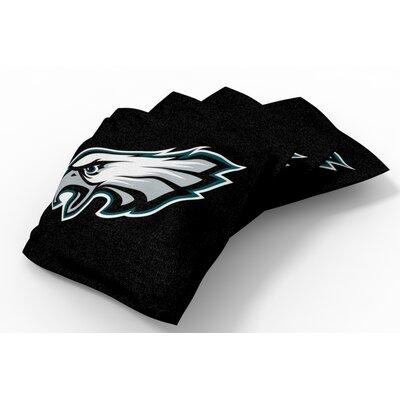 NFL Bean Bag Set NFL Team: Philadelphia Eagles Black
