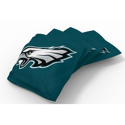 NFL Bean Bag Set NFL Team: Philadelphia Eagles Midnight Green