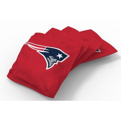 NFL Bean Bag Set NFL Team: New England Patriots Red