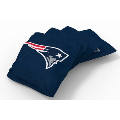 NFL Bean Bag Set NFL Team: New England Patriots Navy Blue