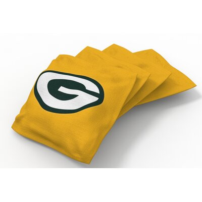 NFL Bean Bag Set NFL Team: Green Bay Packers Gold